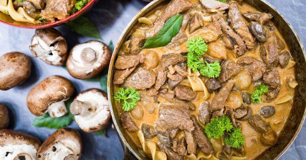 Как правильно приготовить бефстроганов из говядины: топ 5 рецептов