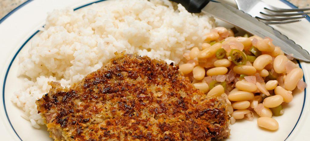 Рис гарнир к стейку