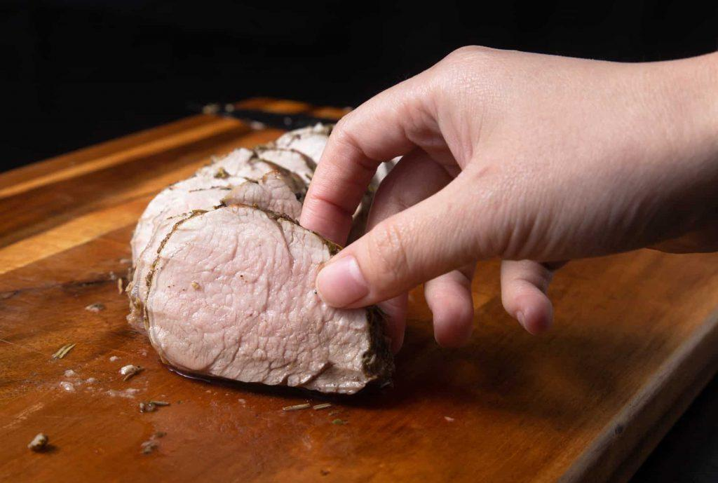 Запекание свиной вырезки