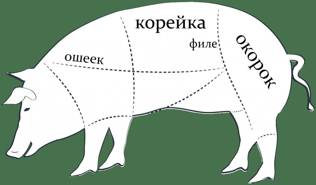 Какую часть свиньи взять для отбивных