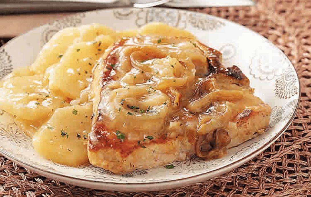 Карбонат в духовке с картошкой