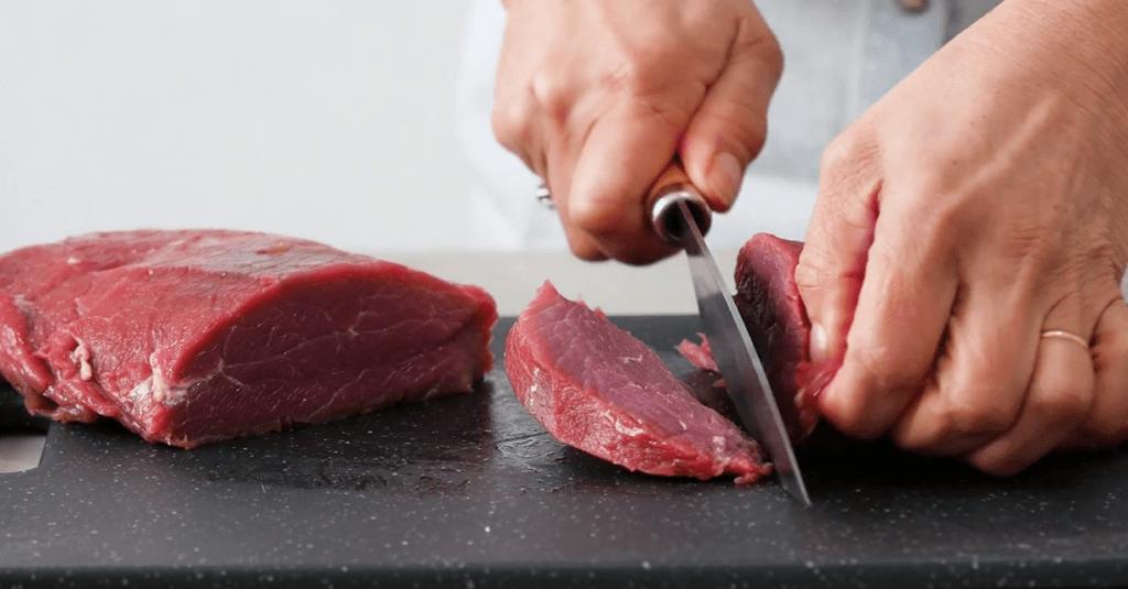 Как резать говядину