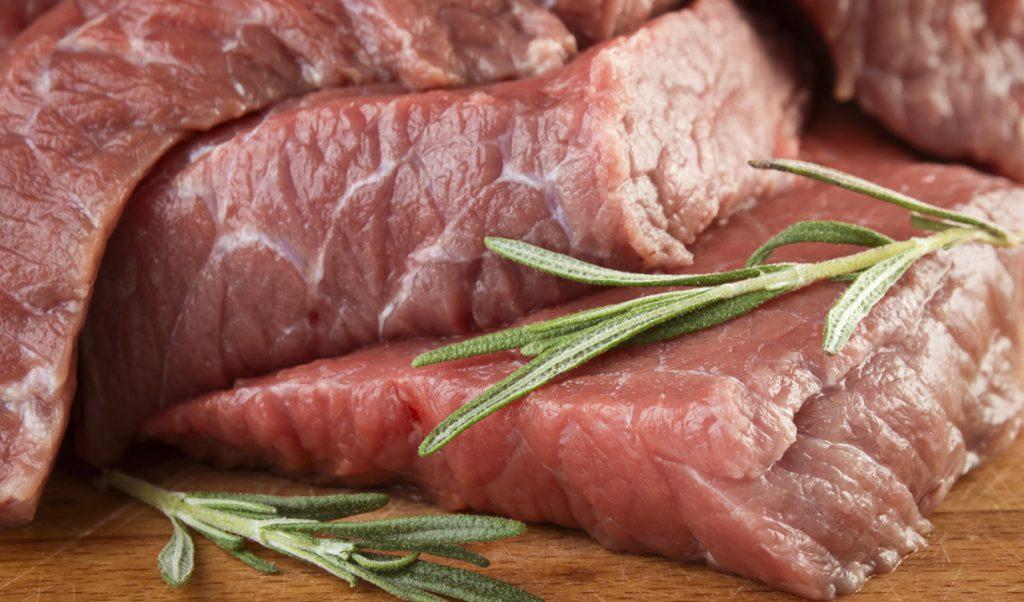 Как выглядит свежая говядина
