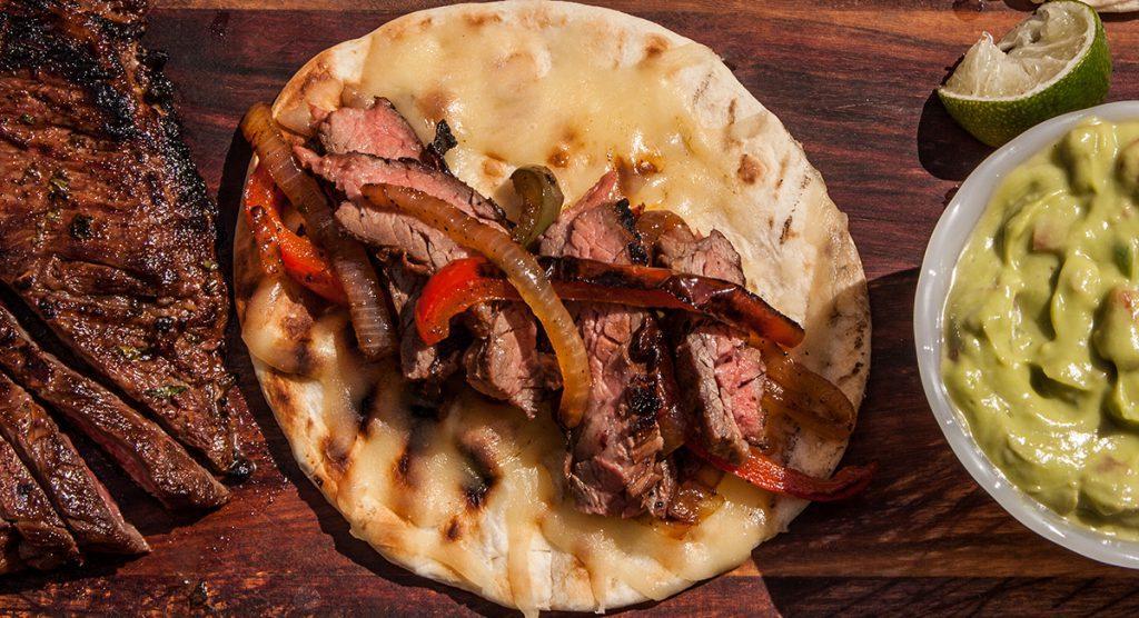 Фахитос с мясом стейка