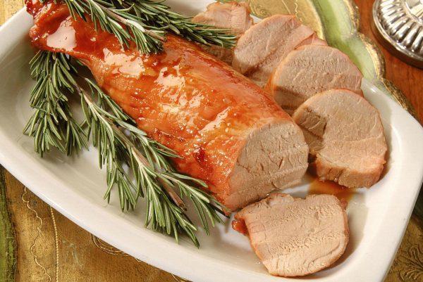 Свиная корейка в горчичном маринаде в мультиварке
