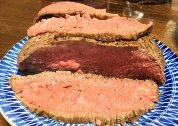 Мраморная говядина в духовке