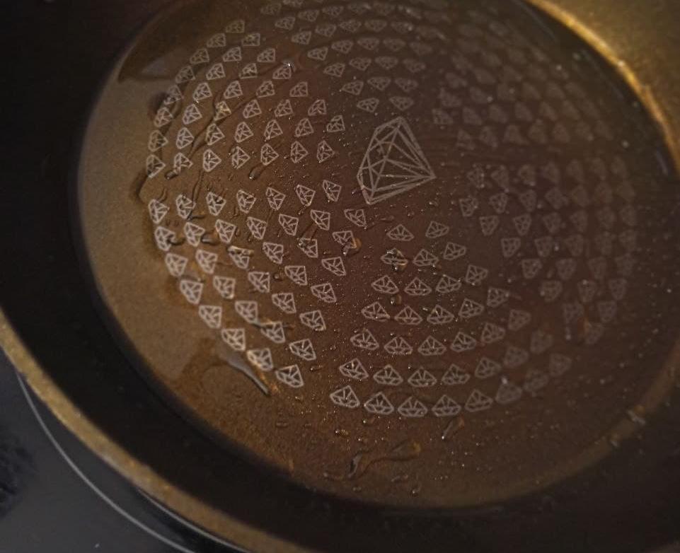 Разогрев сковороды