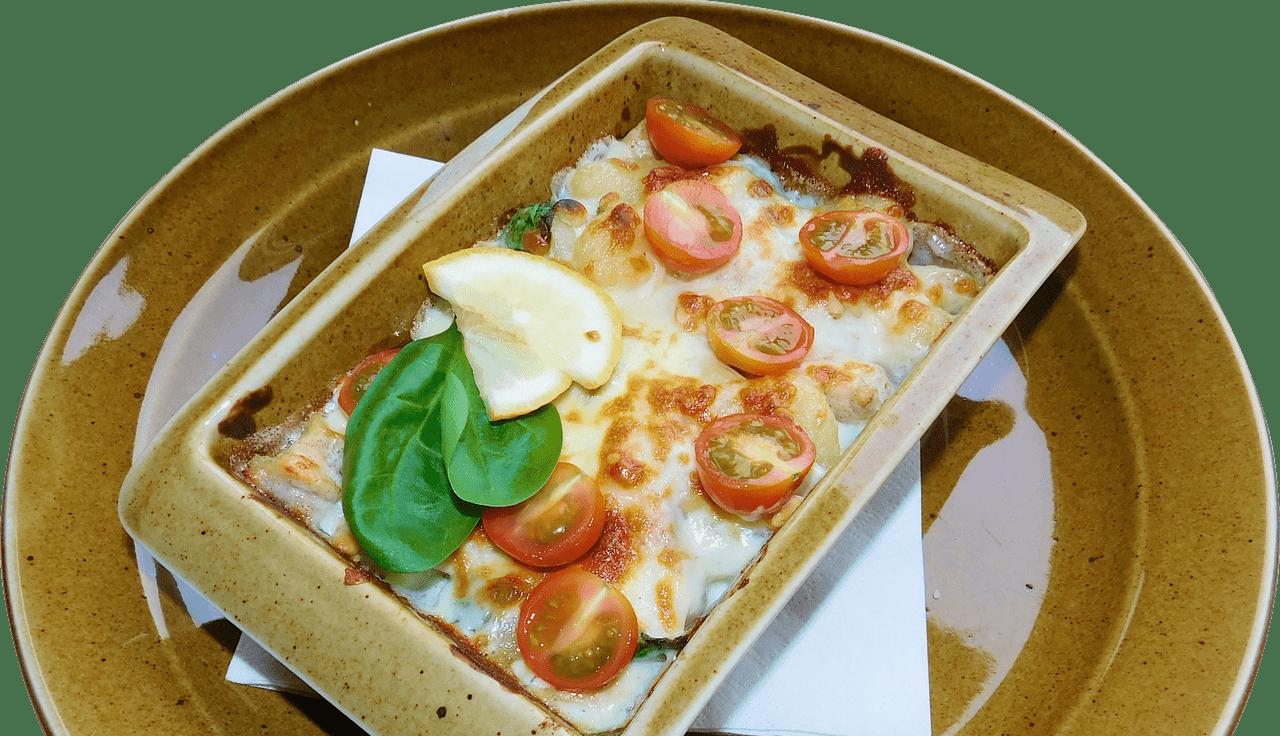 мясо по-французски с базиликом и томатами черри