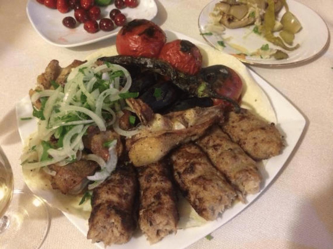 Люля из говядины на сковороде