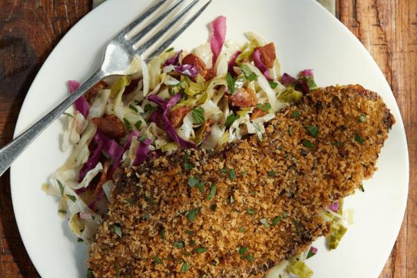 Как приготовить шницель из говядины на сковороде