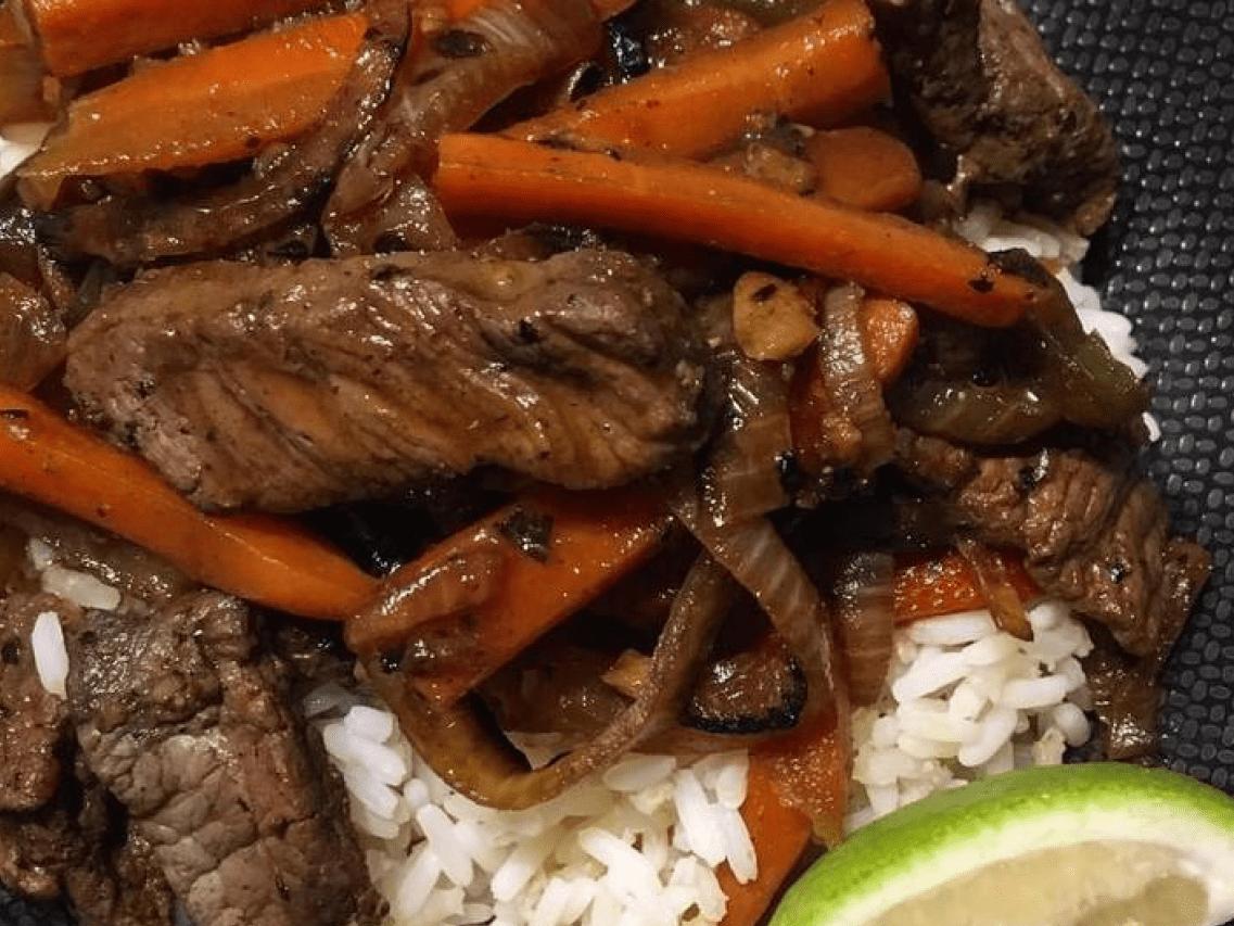 Мясо по-тайски с соевым соусом