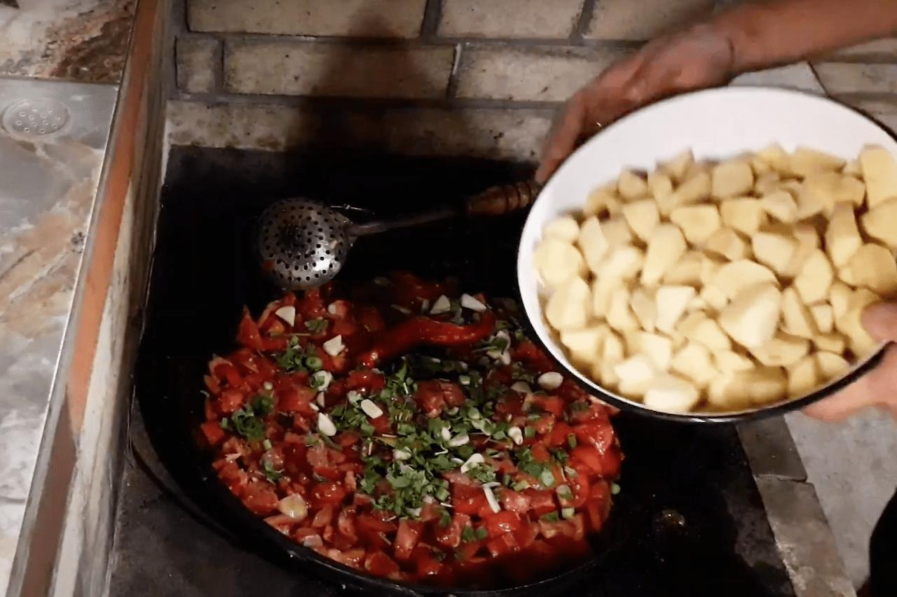 Нарханги узбекская кухня