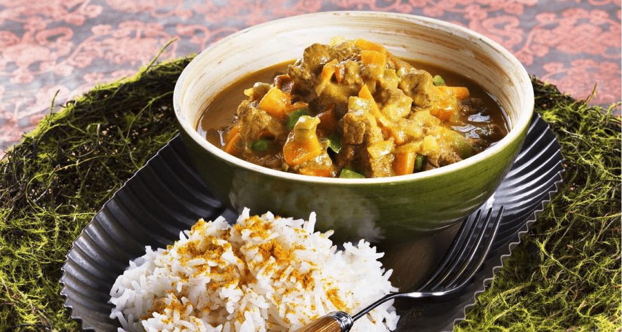 Рецепт мяса по-тайски с кокосовым молоком
