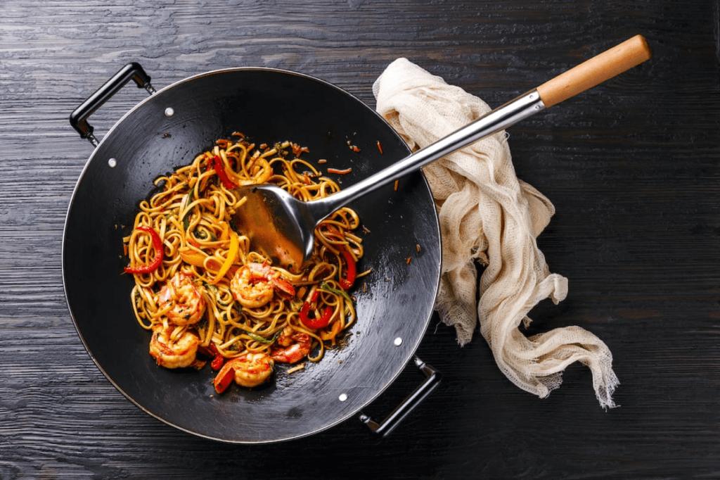 Сковорода для мяса по тайски