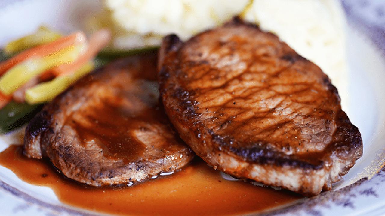 Карбонат свиной приготовить на сковороде