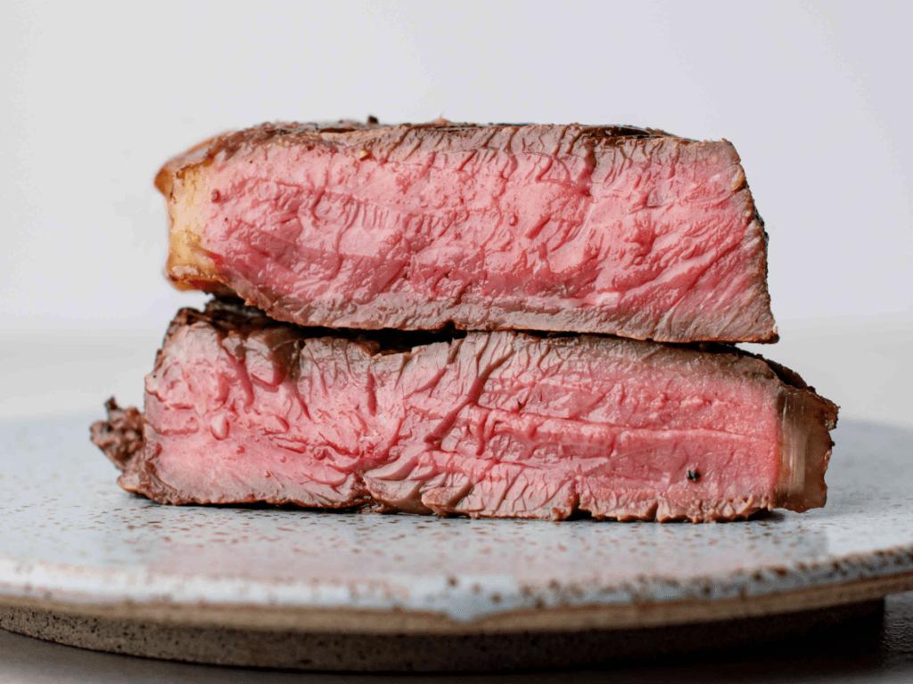 Прожарка стейка из говядины