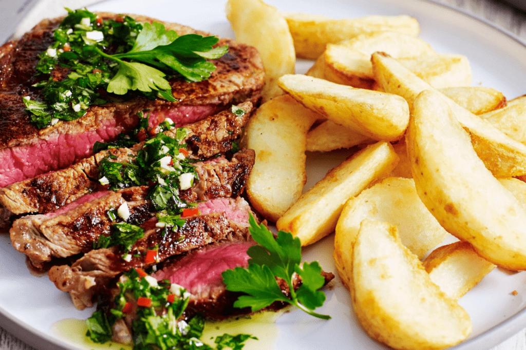 Рецепты стейков из говядины