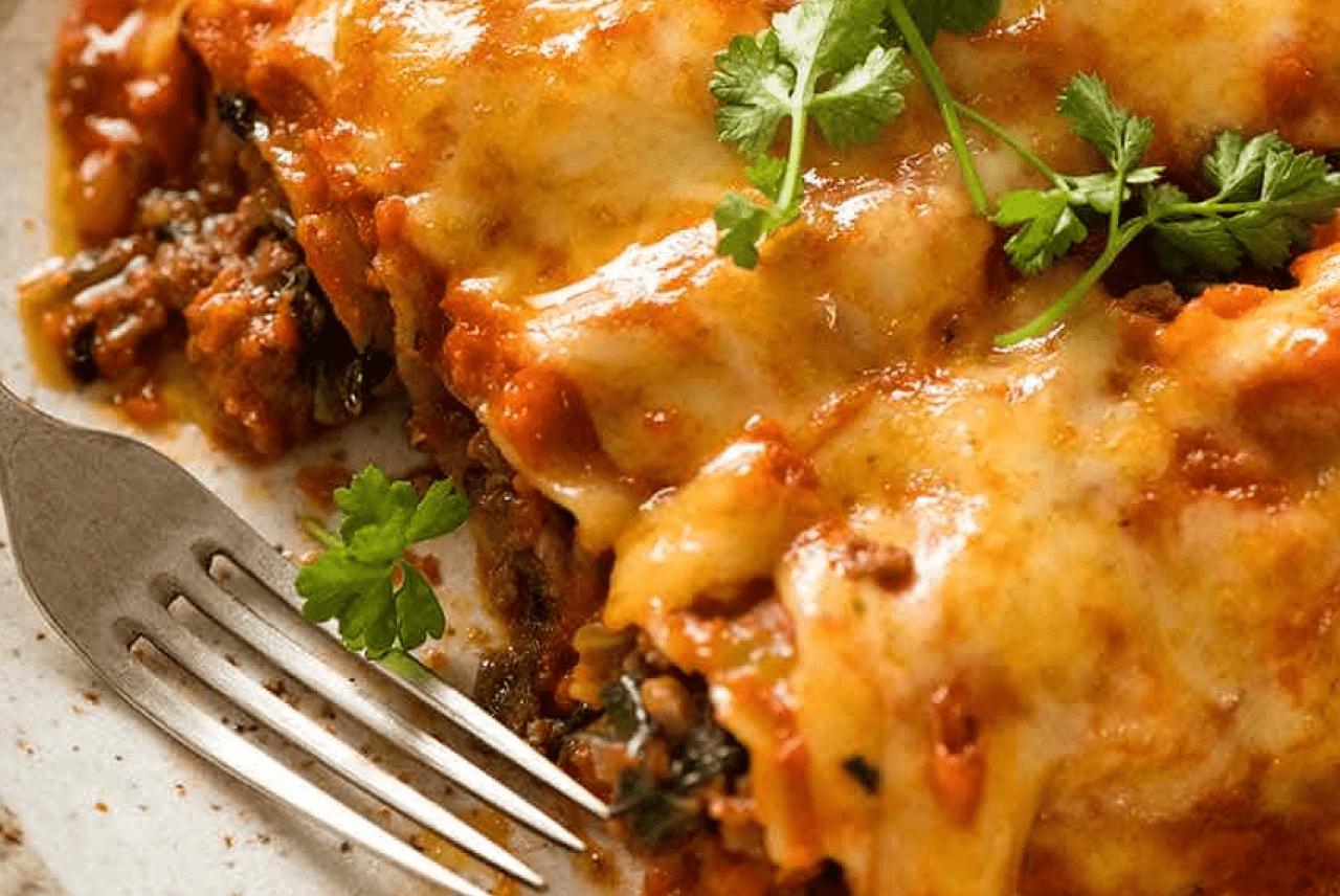 Каннеллони с мясом итальянский рецепт