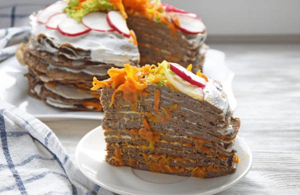 самый вкусный печеночный торт рецепт с фото пошагово